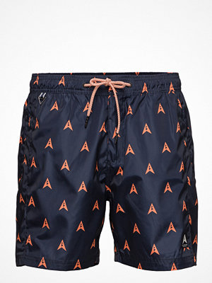 Badkläder - Scotch & Soda Allover Printed Swim Shorts
