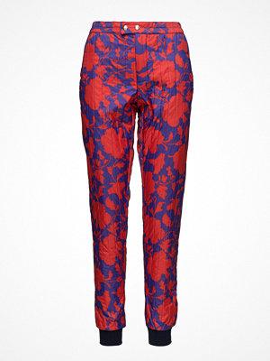 Mads Nørgaard röda byxor med tryck Liberty Quilt Pansas