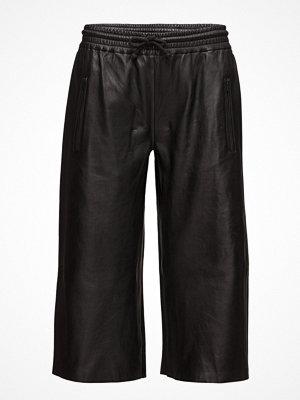 Raiine svarta byxor Cloud Leather Pants