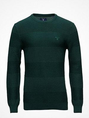 Tröjor & cardigans - Gant Op2.Textured Stripe Crew