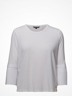Tommy Hilfiger Fiona Round-Nk Top 3/4 Slv