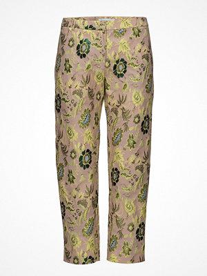 Samsøe & Samsøe mönstrade byxor Louise Crop Pants 9901