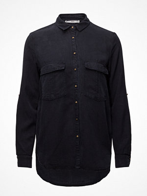 Mango Chest-Pocket Soft Shirt