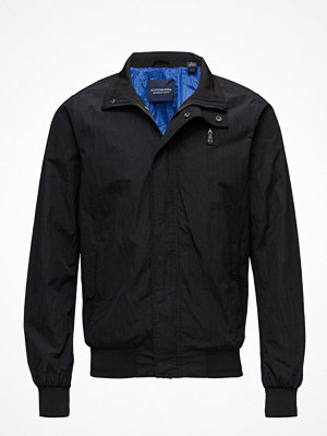 Scotch & Soda Simple Ams Blauw Harrington Jacket