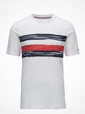 T-shirts - Tommy Hilfiger Global Stripe Fashion Fit Tee