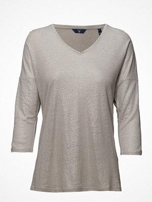 Gant O2. Lurex 3/4 Sleeve Top