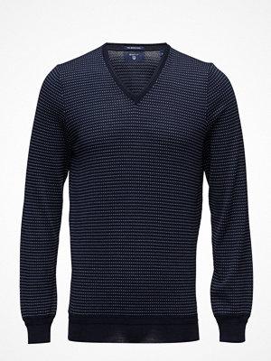 Tröjor & cardigans - Gant Op2. Allover Pattern V-Neck