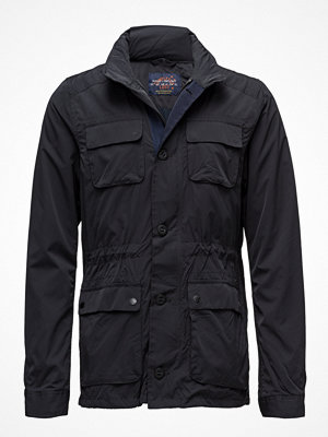 Scotch & Soda Ams Blauw 4 Pocket Military Jacket
