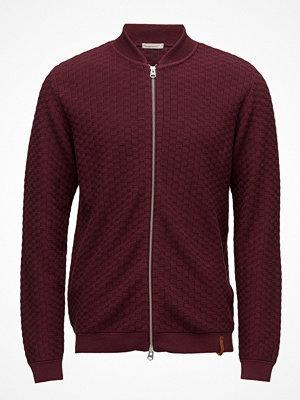 Tröjor & cardigans - Knowledge Cotton Apparel Check Knit Cardigan - Gots