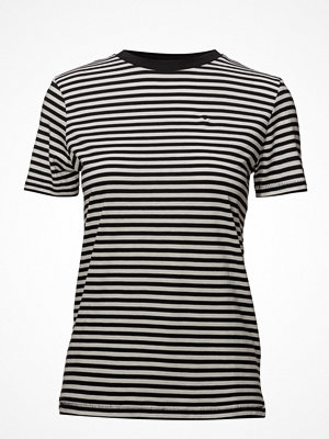 Selected Femme Sfmy Perfect Ss Tee - Box Cut-Stri. Noos