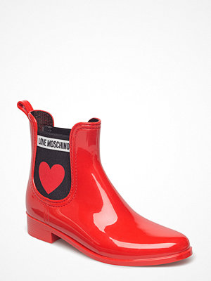Gummistövlar - Love Moschino Love Moschino Rainboot