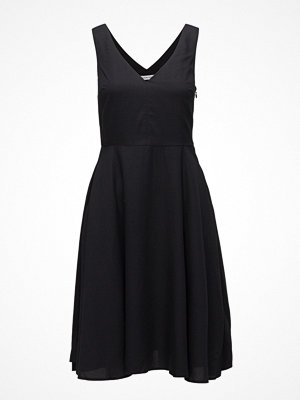 Calvin Klein Jeans Tencel Sleeveless Fit And Flare Dress