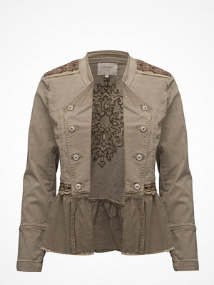 Cream Zarah Jacket