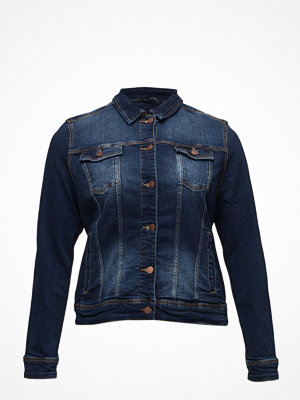 Violeta by Mango Dark Wash Denim Jacket