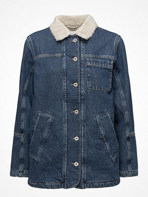 Gant Rugger R1. The Denim Shearling Jacket