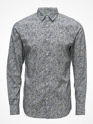 Selected Homme Slhslimretro-Print Shirt Ls Aop B