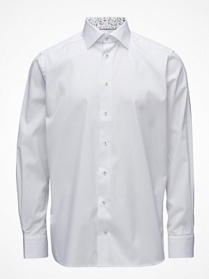 Eton White Shirt – Palm Print Details