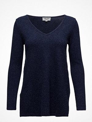 Davida Cashmere V-Neck Long Sweater