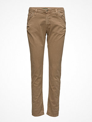 Please Jeans omönstrade byxor Fancy Camel Studs