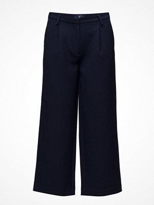 Gant svarta byxor O1. Culotte Pants