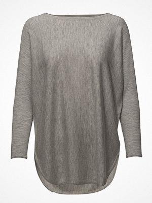 Davida Cashmere Curved Sweater Long - Baby Cashmere 16gg