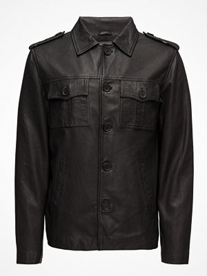 Skinnjackor - MDK / Munderingskompagniet Felix Leather Jacket (Black)