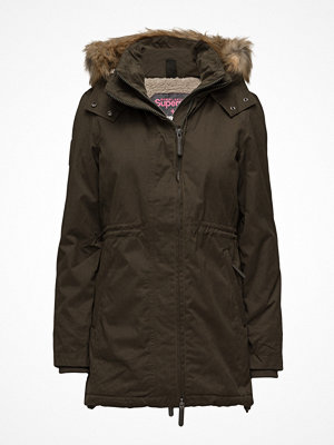 Superdry Hooded Microfibre Parka