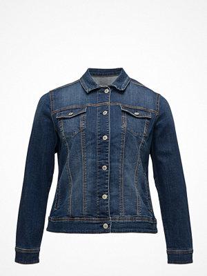 Jeansjackor - Violeta by Mango Dark Denim Jacket