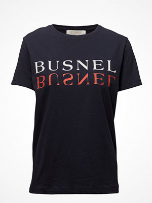 Busnel Tours Text T-Shirt