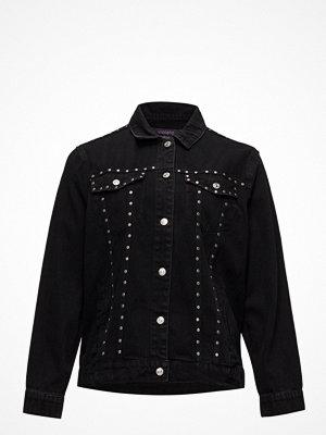 Jeansjackor - Violeta by Mango Studded Denim Jacket