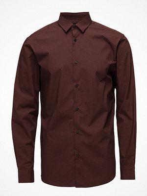 Selected Homme Slhslimpreston-Clean Shirt Ls B Noos