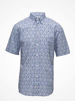 Eton Blue Printed Shirt