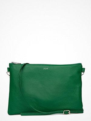Dagmar grön axelväska Leather Strap Bag