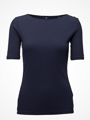 Gant O1. Boatneck Top With Sh. Buttons