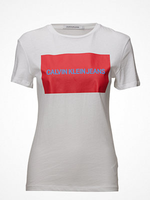 Calvin Klein Jeans Institutional Box Logo Regular Fit Tee