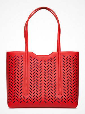 BOSS Taylor Shopper-L röd mönstrad
