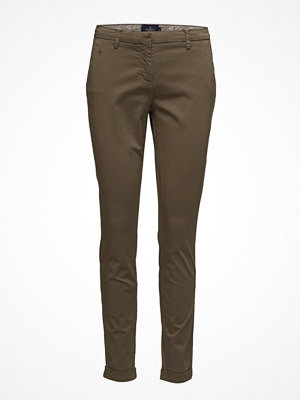 Morris Lady omönstrade byxor Adelie Chino Pants