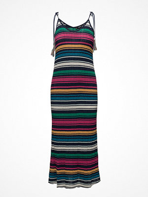 Mango Metallic Cotton Dress