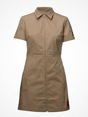 Calvin Klein Jeans Cotton Short Sleeve Zip Up Dress