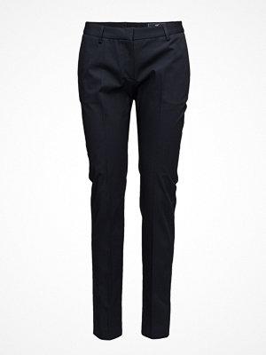 Lexington Clothing svarta byxor Blake Narrow Leg Pants