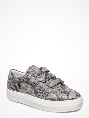 J. Lindeberg Velcro Sneaker Snake Leather