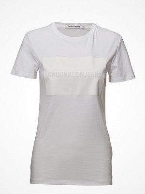Calvin Klein Jeans Institutional Satin Box Logo Regular Tee