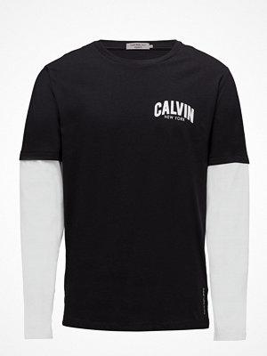Calvin Klein Jeans Terq Regular Cn Tee Ls