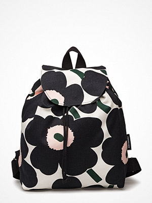 Marimekko mönstrad ryggsäck Erika Pieni Unikko Backpack