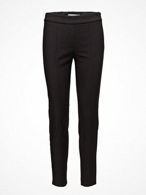 Mango svarta byxor Zip-Pocket Slim-Fit Trousers