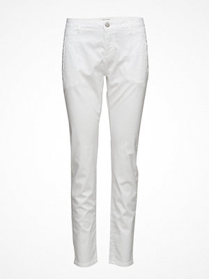 Selected Femme vita byxor Sfingrid Mr 2 Chino Snow White