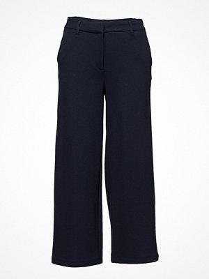 2nd One svarta byxor Eloise 810 Crop, Navy Waffle, Pants