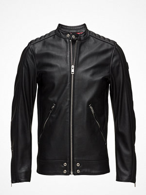 Skinnjackor - Diesel Men L-Quad Jacket