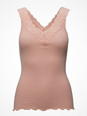 Rosemunde Silk Top V-Neck Regular W/ Lace