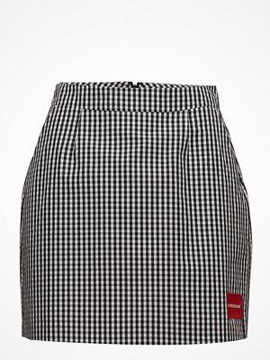 Calvin Klein Jeans A-Line Gingham Short Skirt